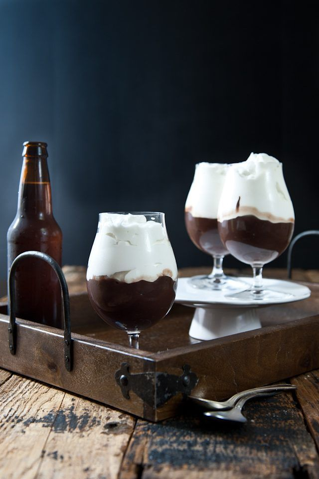 Chocolate Stout Pudding with Beer Whipped Cream | eHow Food | eHow