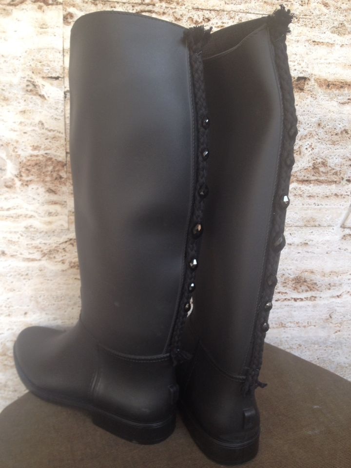 Rain boots handmade