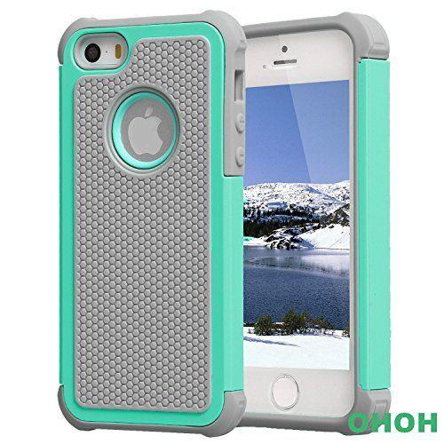 iPhone 5 case,iPhone 5s case,iPhone SE case [Shockproof] [Drop resistance] [Dirt proof] Super Defender Shield Series TPU