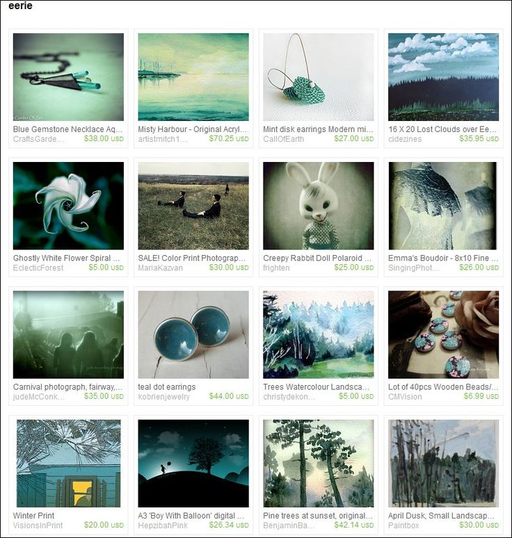Eerie - Curated by Celeste - Crickets from CricketsCreations on Etsy