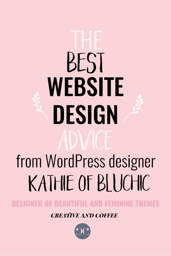 An interview with Kathie, founder of Bluchic, on what to consider when designing your website.  via @creativencoffee