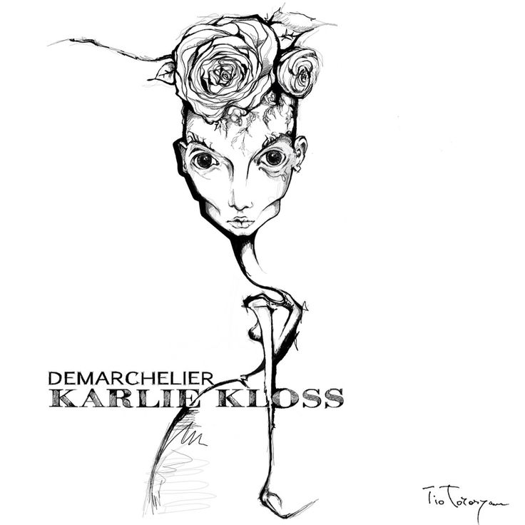 Always inspiring #patrikdemarchelier and #karliekloss by #tio.torosyan