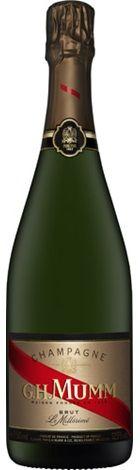 G.H.Mumm Millesime Vintage Champagne 750mL