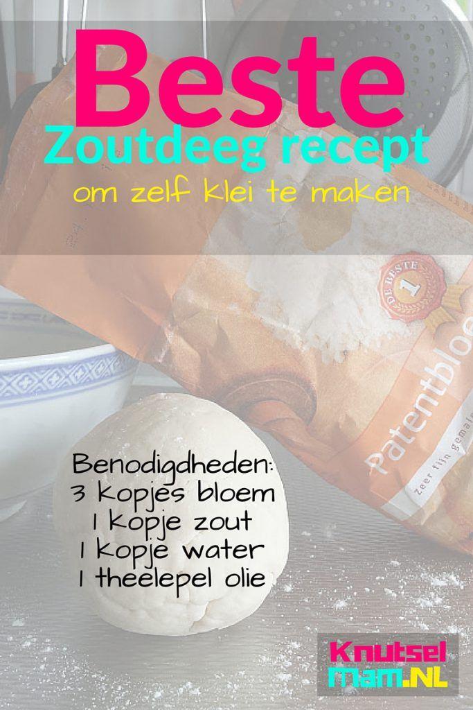 Beste zoutdeeg recept om klei te maken