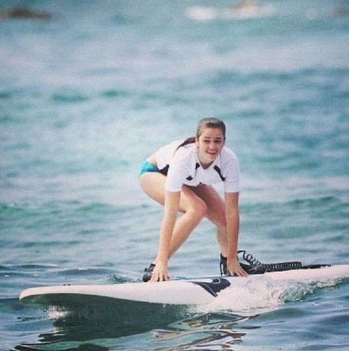 Duck Dynasty Sadie Robertson Bikini | Throwback from surfing in Hawaii!!:) Can't wait for y'all to see ...