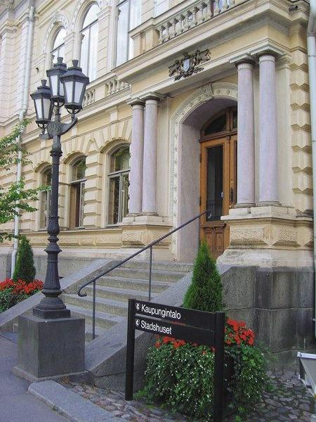 Porvoo City Hall www.visitporvoo.fi