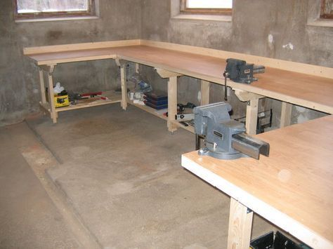 Extreme Heavy Duty work Bench IMG_3318.JPG #woodworkingbench