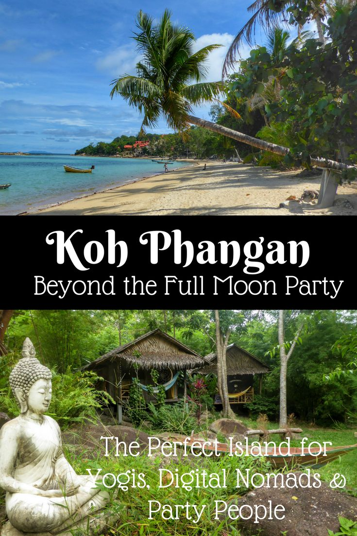 Koh Phangan Beyond the Full Moon Party: Paradise Island for Yogis, Digital Nomads & Party People - Global Gallivanting Travel Blog