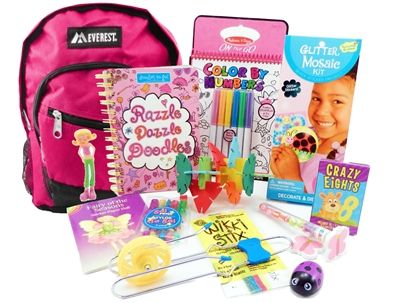 The Pack For 6 To 9 Year Old Girls Is A Child Sized