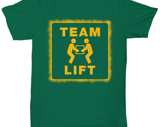 Team Lift Warehouse Worker Logo T Shirt Amazing Amazonians Box
