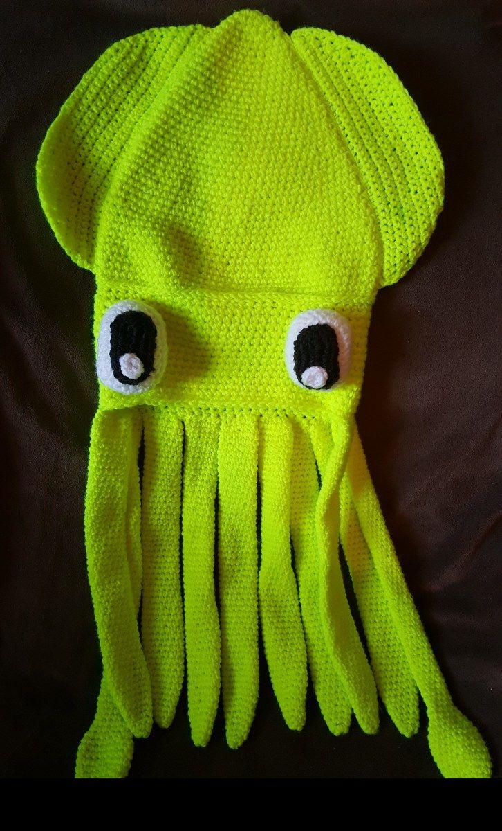 Realistic Squid Crochet Pattern PDF by RubySubmarine on Etsy ... | 1200x726