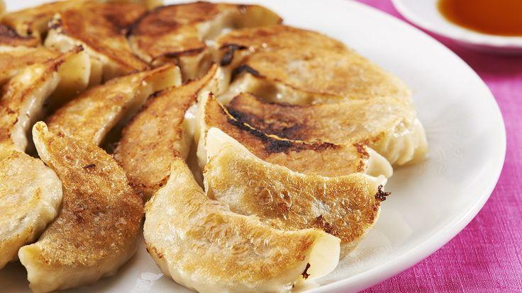 Yasai gyoza (Vegetable dumplings)   Let's Cook Japanese   NHK WORLD RADIO JAPAN