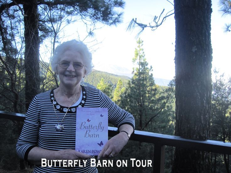 http://www.karenpowerauthor.com/ Butterfly Barn on a lovely Cruise  Holiday.