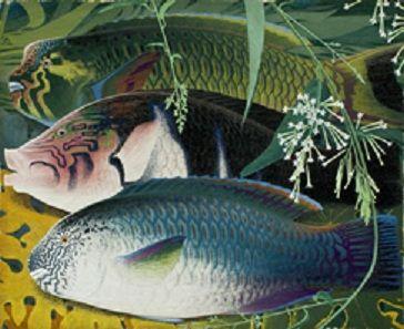 15日、「千葉市美術館」の開館15周年記念の特別展として、「千葉」にゆかりの深い日本画家「田中一村新たなる全貌」を観てまいりました。1908年(明治41年)、栃木県下都賀郡栃木町(現・栃木市)に6人兄弟の長男として生まれる。父は彫刻家の田中彌吉(号は稲村)。1913年(大正2年)、一家で東京へ。一村は若くして南画(水墨画)に才能を発揮し、7歳の時には児童画展で受賞(文部大臣賞)。また10代ですでに蕪村や木米などを擬した南画を描く。「大正15年版全国美術家名鑑」には田中米邨(たなかべいそん)の名で登録された。1926年(大正15年)、東京美術学校(現・東京芸術大学)日本画科に入学。同期に東山魁夷、橋本明治らがいる。しかし、自らと父の発病により同年6月に中退。南画を描いて一家の生計を立てる。1938年(昭和13年)...田中一村新たなる全貌