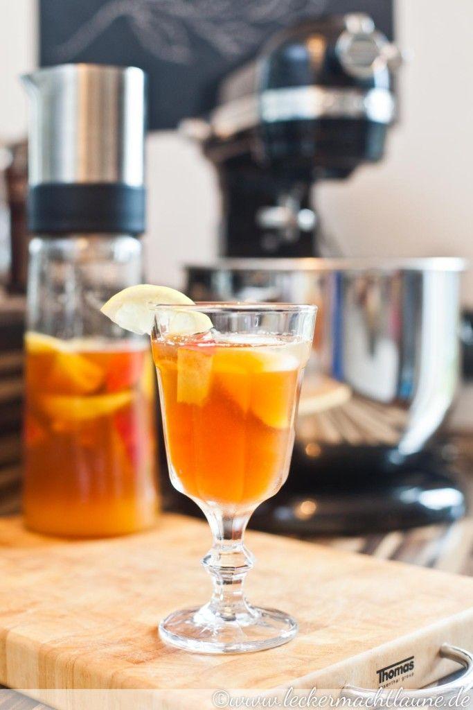 Pfirsich-Zitronen-Eistee – eine Rettungsaktion :)   lecker macht laune