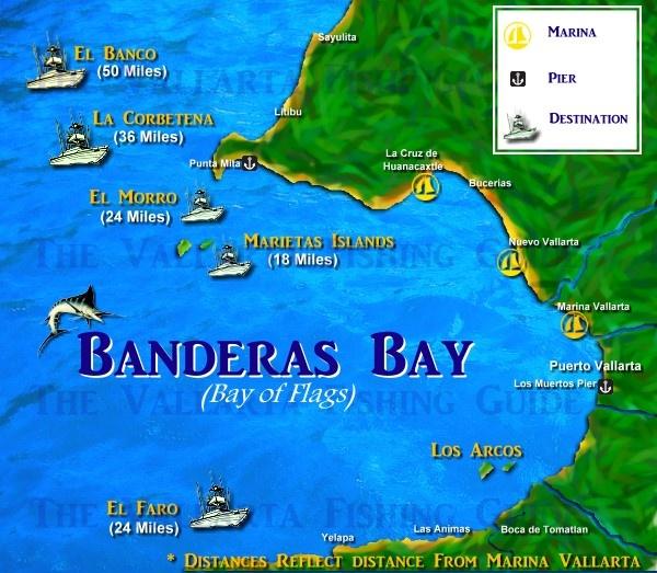 Banderas Bay, Puerto Vallarta, Mexico