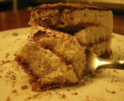 "Tiramisu is Italian for ""pick me up""- a fitting name for this creamy dessert."
