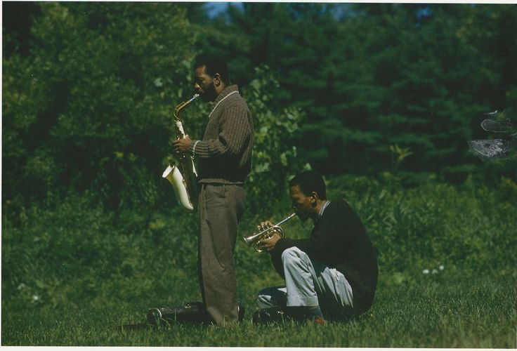 behardfreebop:  Ornette Coleman and Don Cherry in 1959. Credit: Lee Friedlander