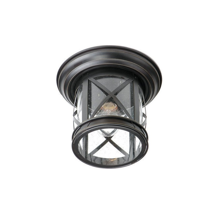Allen roth oil rubbed bronze outdoor flush mount light lowes 49 98 · porch ceiling lightsporch
