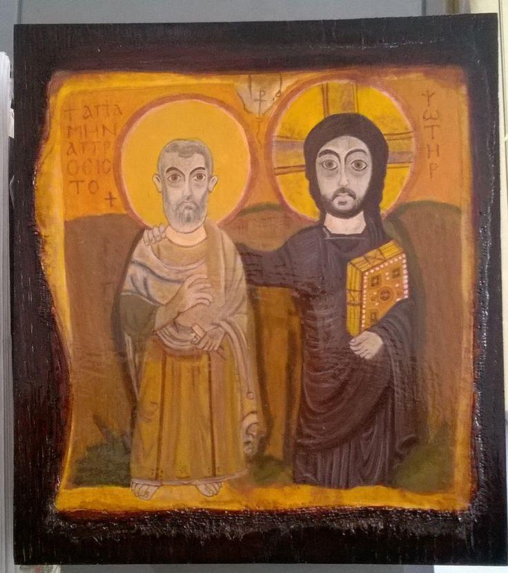 XI Gesù e l'Abba Menna