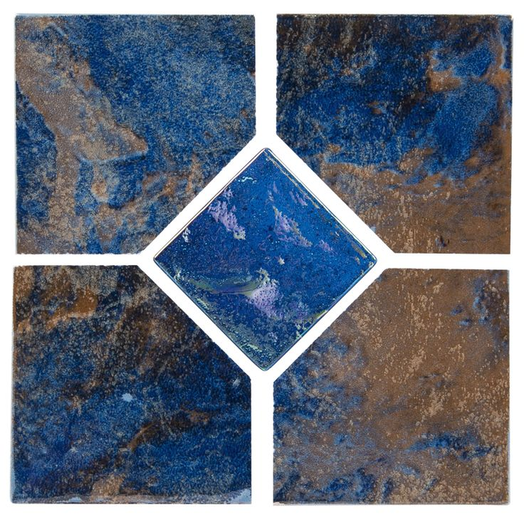 """Coral - Rustic Deco Coral series tile from NPT. A bolder earthy tile with moderate variance. Multiple color choices in 2""""x2"""" and 6""""x6"""" with optional accent tiles."""