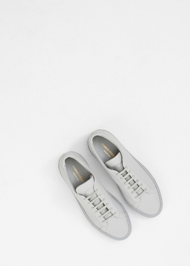 Common Projects Original Achilles Low Sneaker in Grey #totokaelo #commonprojects #sneakers