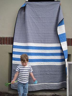 leedle deedle quilts: Jack's Stripes