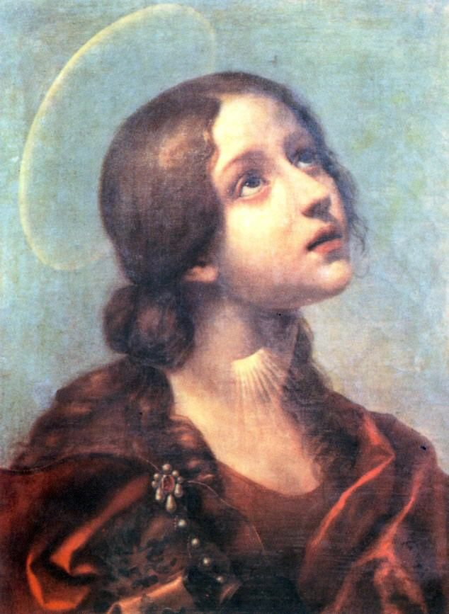 Saint Lucia of Syracuse, Italy, 283–304 A.D.  Opted not to marry in part to give her sizable dowry to the poor, and after her mother was miraculously healed for her prayers' sake, had the bequest donated also. Greedy fiancee turned her in; upon refusing to sacrifice to the Emperor's image, Gift of Faith miracles turned the tide of power in her city. Eventually martyred by the Roman persecutions.
