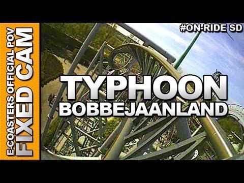 Vidéo embarquée du roller coaster Typhoon situé dans le parc d'attraction Bobbejaanland en Belgique. N'hésitez pas à venir découvrir sur notre channel Youtube, nos plus de 200 vidéos On-Ride : http://www.youtube.com/ecoasters !!