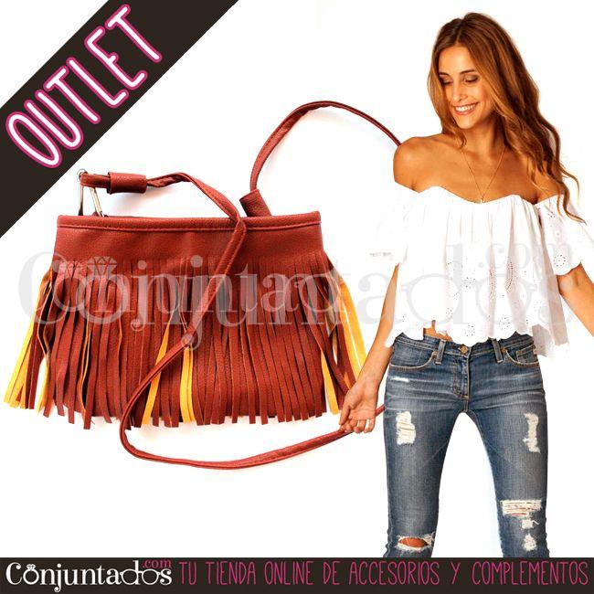 Bolso bandolera de flecos con contraste en mostaza ★ 7'95 € en https://www.conjuntados.com/es/outlet/bolso-bandolera-de-flecos-con-contraste-en-mostaza.html ★ #outlet #liquidación #rebajas #descuentos #soldes #sales #regalos #gifts #compras #bolso #bandolera #crossbodybag #bag #bolsobandolera #lowcost #accesorios #complementos #moda #fashion #fashionadicct #picoftheday #outfit #estilo #style #GustosParaTodas #ParaTodosLosGustos