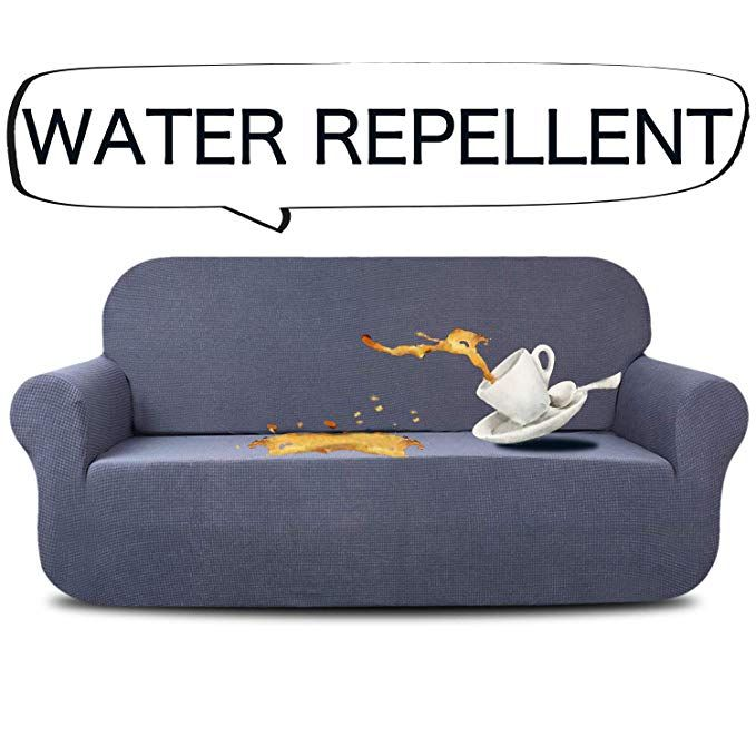 Marvelous Aujoy Stretch Sofa Cover Water Repellent Couch Covers Dog Dailytribune Chair Design For Home Dailytribuneorg