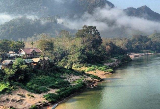 Nong Kiau en la provincia de Luang Prabang