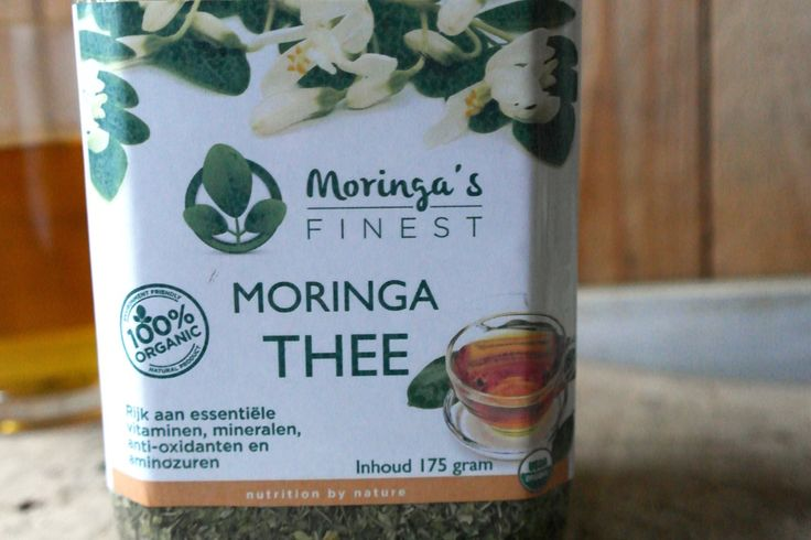 review moringa thee vers blad Meukvrij met Monique