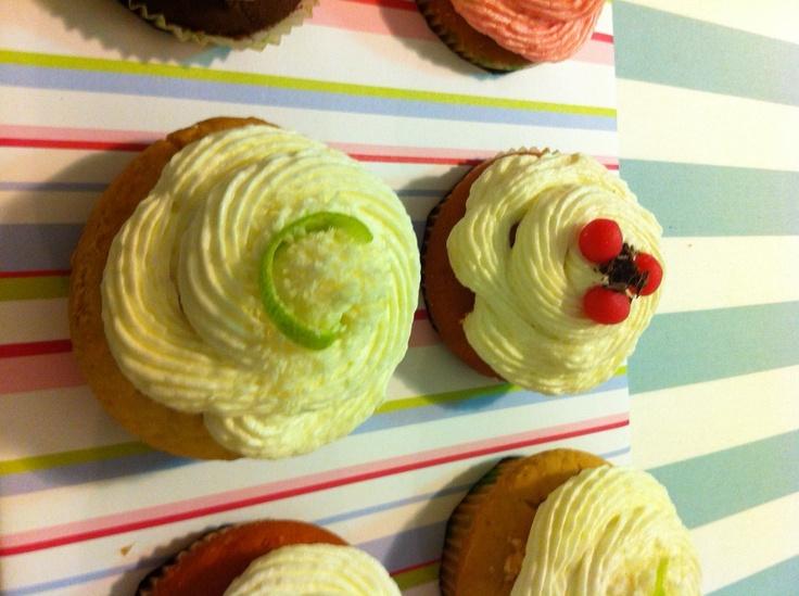 Cupcakes for Nakis' 30+1 birthday