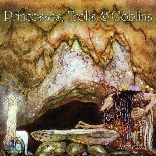 Calendrier 2015 Princesses, Trolls & Goblins