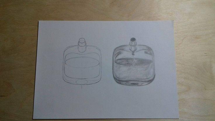 Üveg rajzolás próba