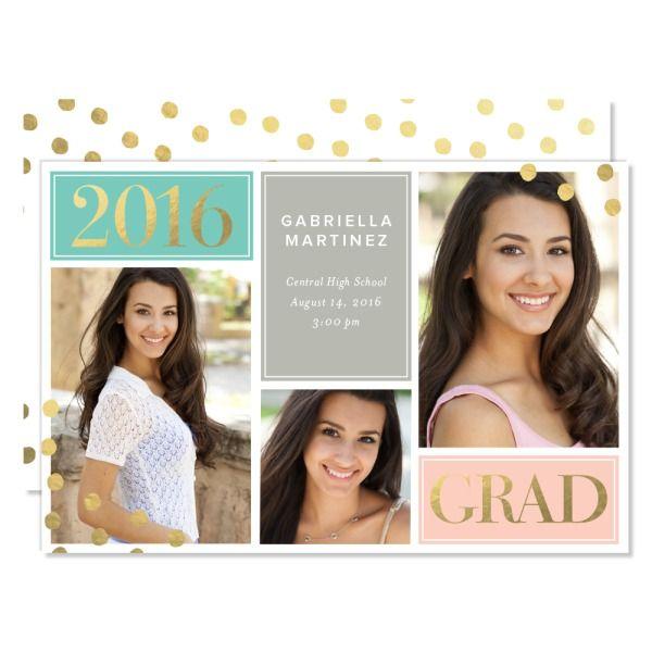 unique graduation announcement