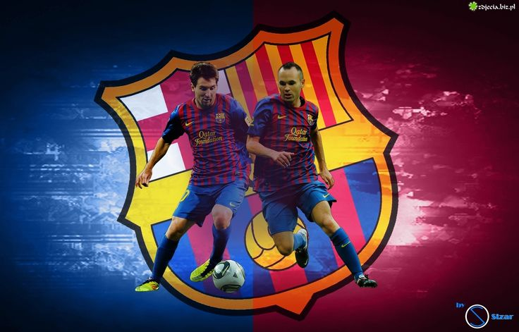 Zdj cie fc barcelona andres iniesta lionel messi hd wallpapers