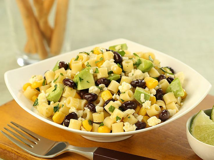 Dining Al Fresco? Try Barilla® Ditalini Salad with Black Beans, Corn, Lime, Cotija Cheese & Avocado to add a little zing to your evening! Get the recipe and enter for your chance to win a $3,000 Al Fresco Dining Makeover.
