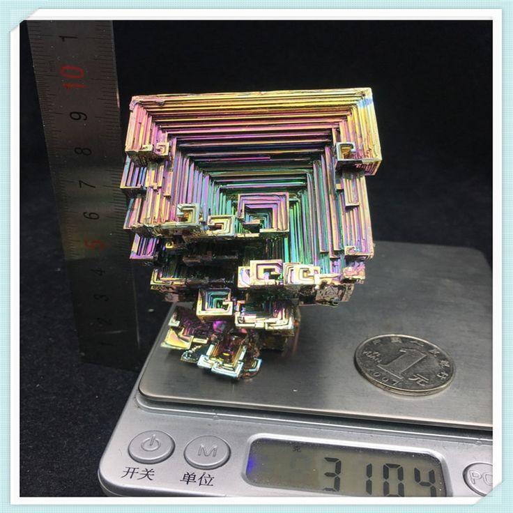100.00$  Buy here - Bismuth Crystals 310g Bismuth Metal crystal   #buyonlinewebsite