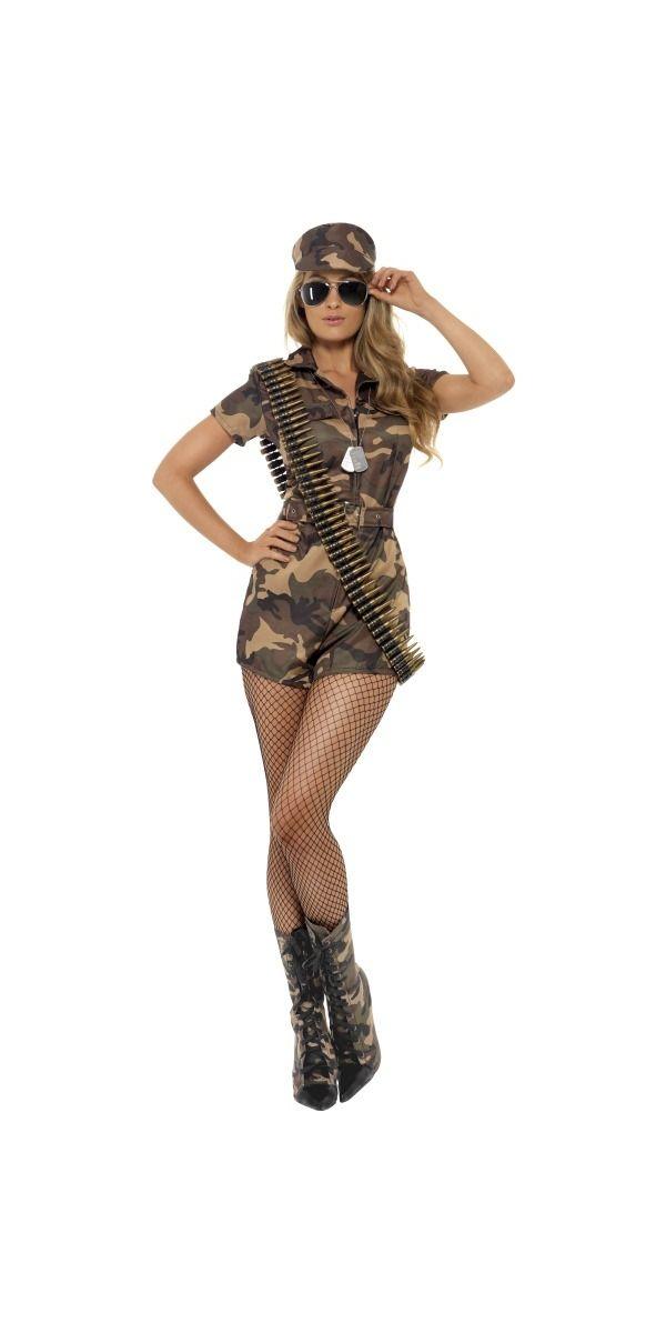 Sexy Army Girl - 28864 - Fancy Dress Ball