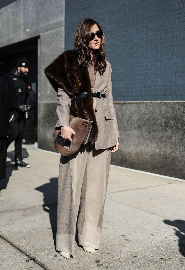 Así llevan la blazer las editoras de moda y fashionistas internacionales