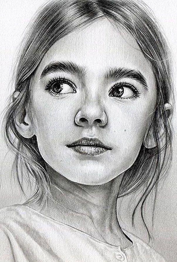 картинки для рисования портреты такому удачному расположению