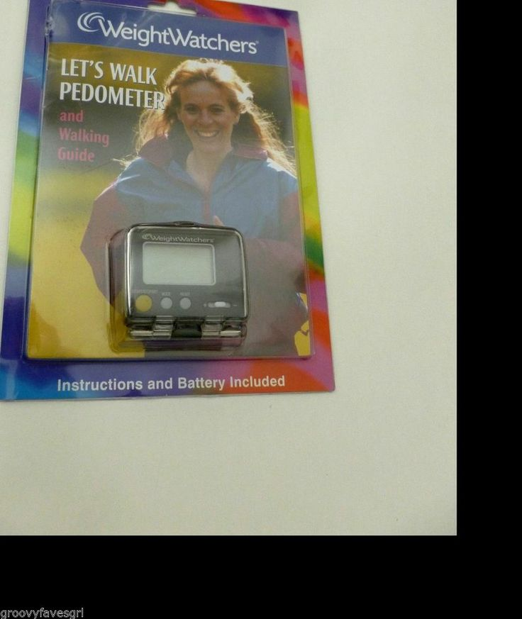 Weight Watchers Pedometer Let's Walk Walking Guide New-Sealed 2002 Exercise