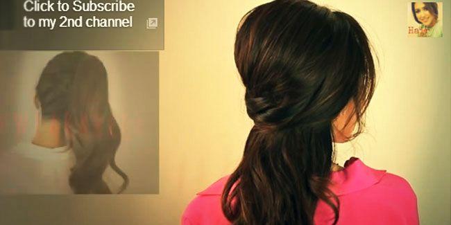 Vemale.com - Yuk miliki rambut ala salon sendiri di rumah untuk ke pesta kali ini. Tak butuh banyak alat kok, hanya sisir, jepit hitam serta hair spray saja.