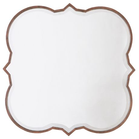 GUEST BED: Lewis Mirror 90cm. New from Freedom I love the shape of this mirror. If you move your lovely little table into the guest room this would look fabulous above