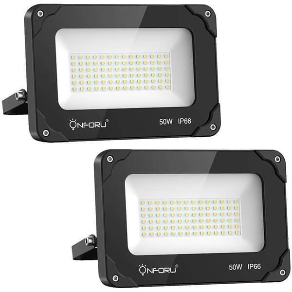LED Fluter mit Bewegungsmelder Flutlicht Scheinwerfer Außen Strahler IP65 10-50W