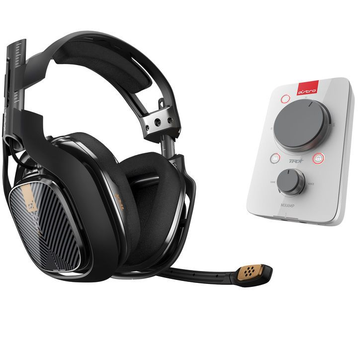 Black/White ASTRO Gaming A40 TR Headset + MixAmp™ Pro TR
