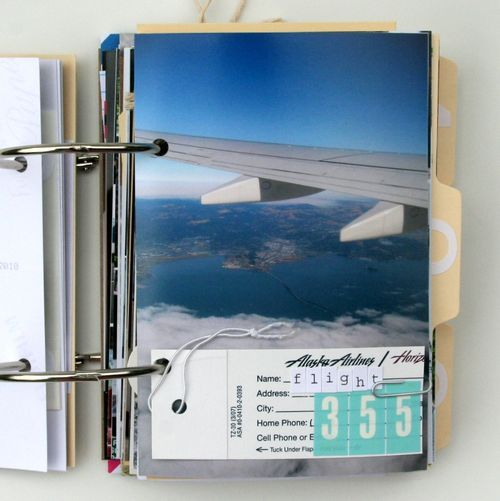 Travel Photo Album. A fun DIY to try with your travel photos.