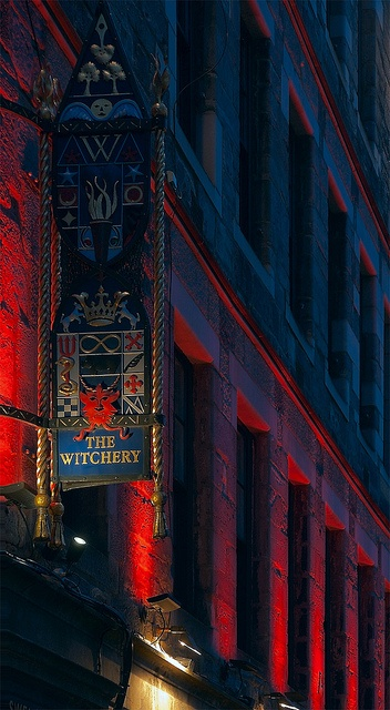 The Witchery --  Edinburgh, UK....Love the uplighting....one of my best meals ever.....